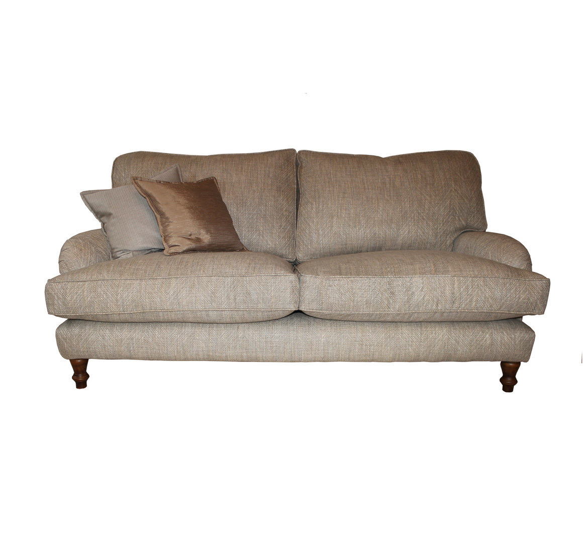 Burnham Cushion Back Sofa in Sanderson Groovy