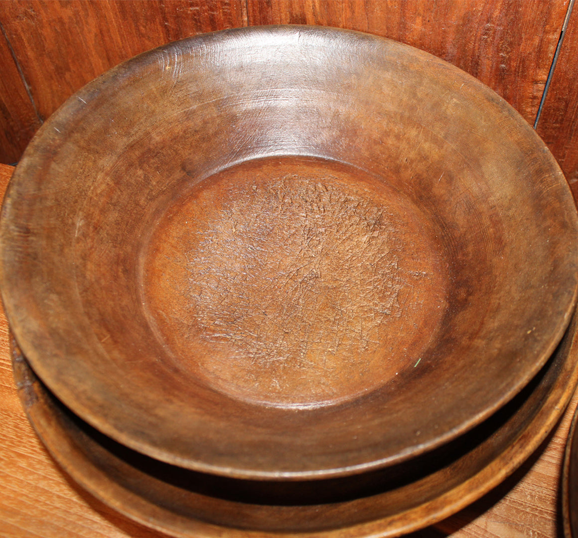 Wooden Parath Bowl from Afghanistan
