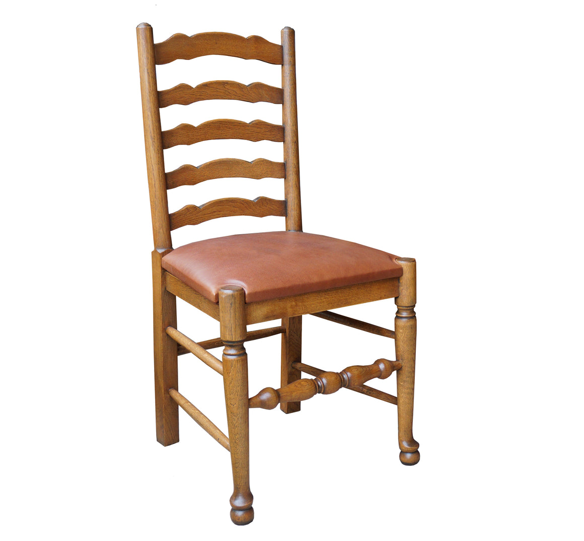 Classic English Ladder Back Dining Chair