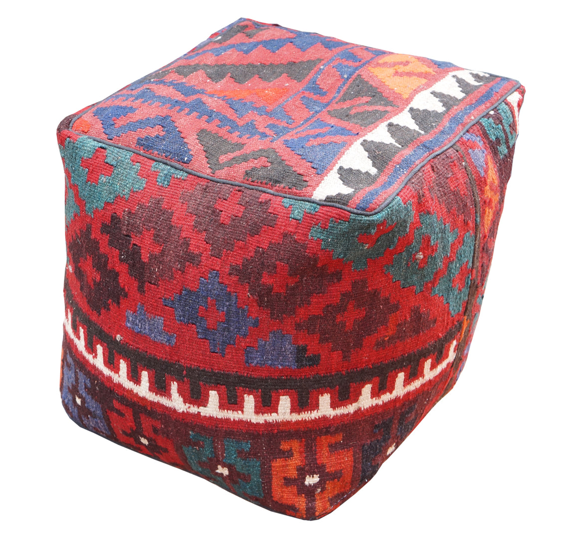 Kilim Covered Floor Cubes