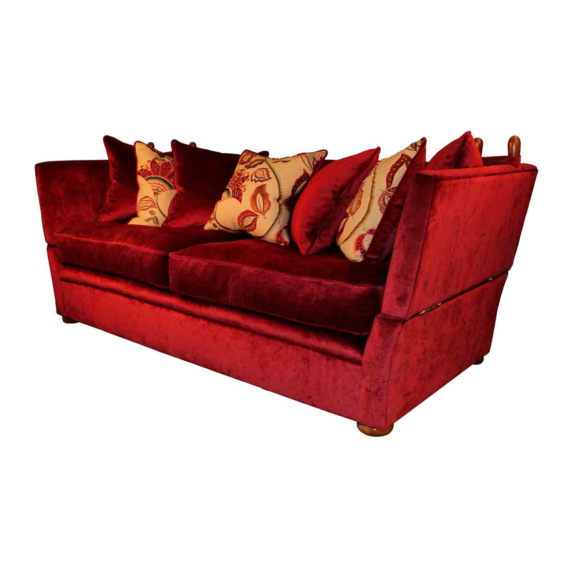 Greenwich Sofa and chairs in Kentia Velvet HALF PRICE