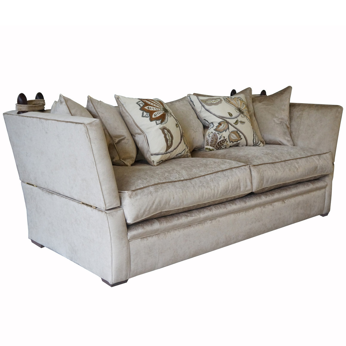 Greenwich Sofa and chairs in Cascada Velvet HALF PRICE TO ORDER