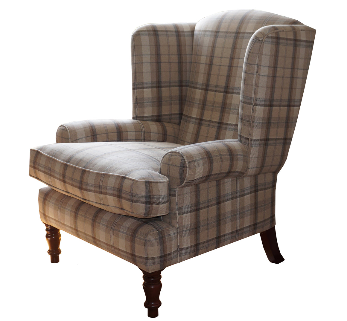 Jodphur Wing Chair in Smythson BUY ONE, GET ONE FREE