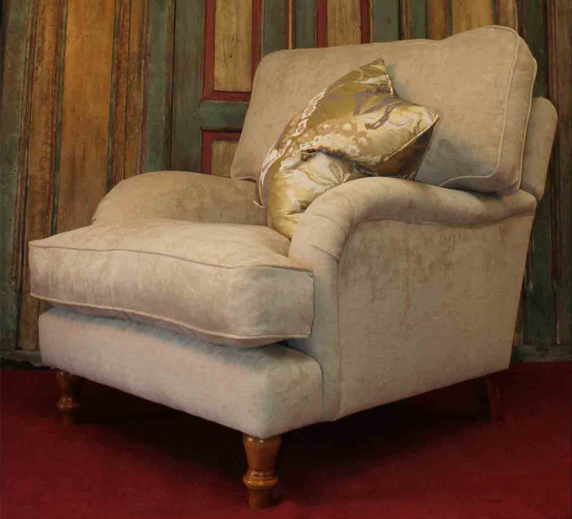 Burnham Cushion Back Chair