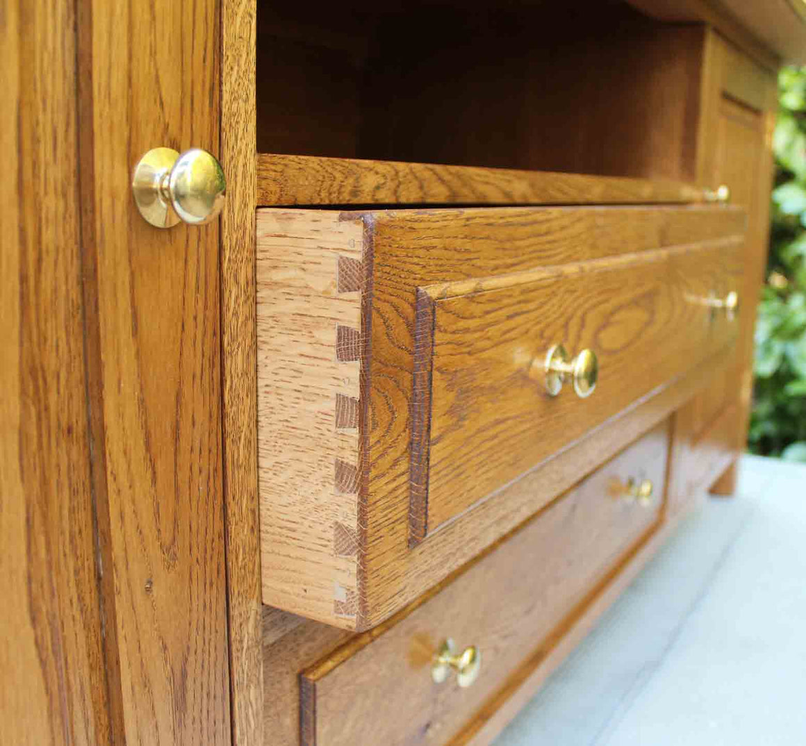 Brighton Handmade Bespoke Cabinet in Solid English Oak