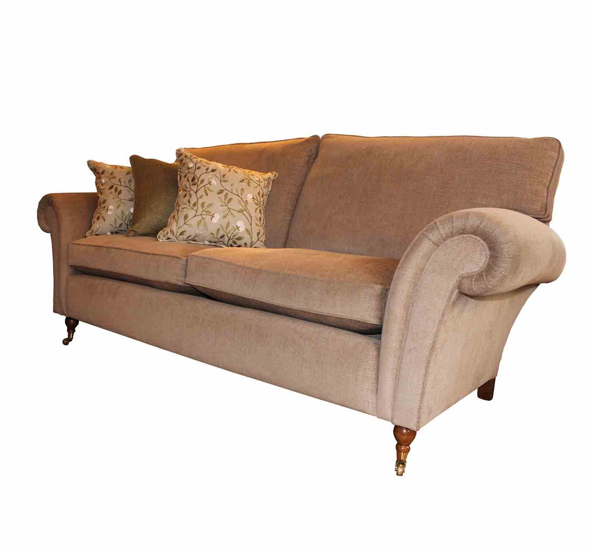 Henley Cushion Back Sofas in Linwood Iona