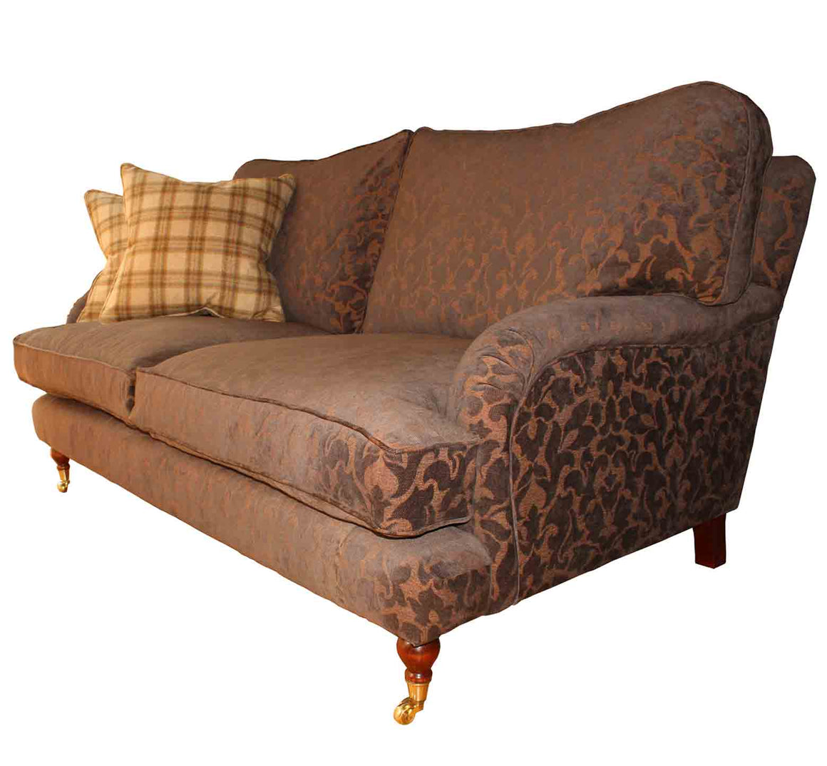 Burnham Cushion Back Sofa in Swaffer Venice