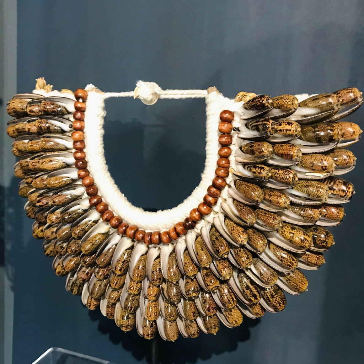 Decorative Shell necklaces from Papua New Guinea