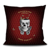 Mauvaise tete - Bad head, good heart scatter cushion