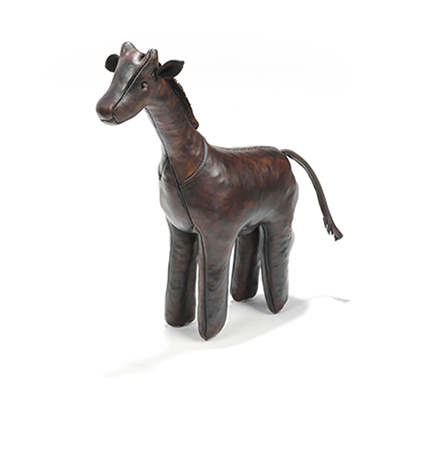 Omersa Leather mini Giraffe