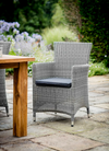 An exclusive Biddenden outdoor dining chair