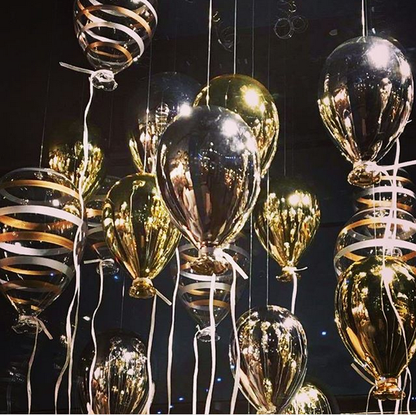 Decorative glass balloon decoration