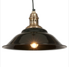 Cafe painted metal pendant light
