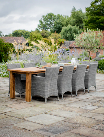 Sissinghurst Reclaimed teak table