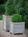 Speldhurst natural spruce square planters