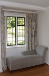 Triple Pinch Pleat Curtains in GP&J Baker Calthorpe