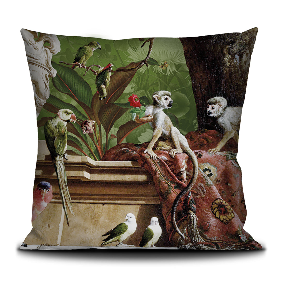 La Menagerie scatter cushion