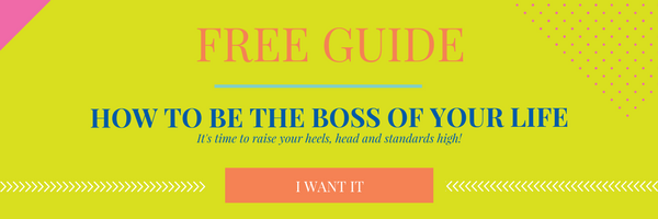 how to be the boss of your life