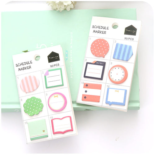 2 Set Assorted Sticky Notes