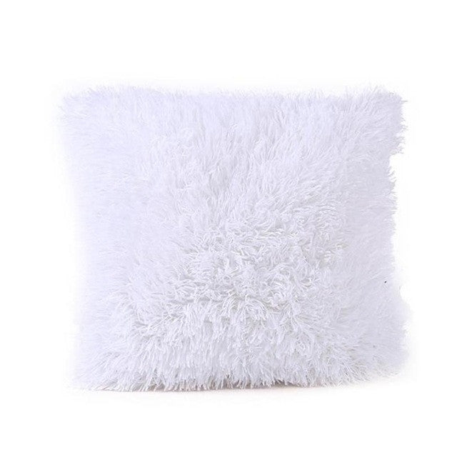 Fluffy Throw Pillows