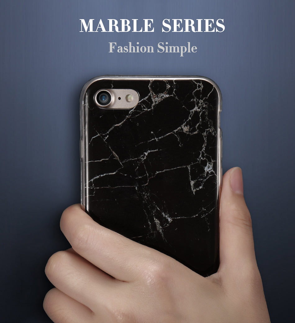 Black Marble Phone Case