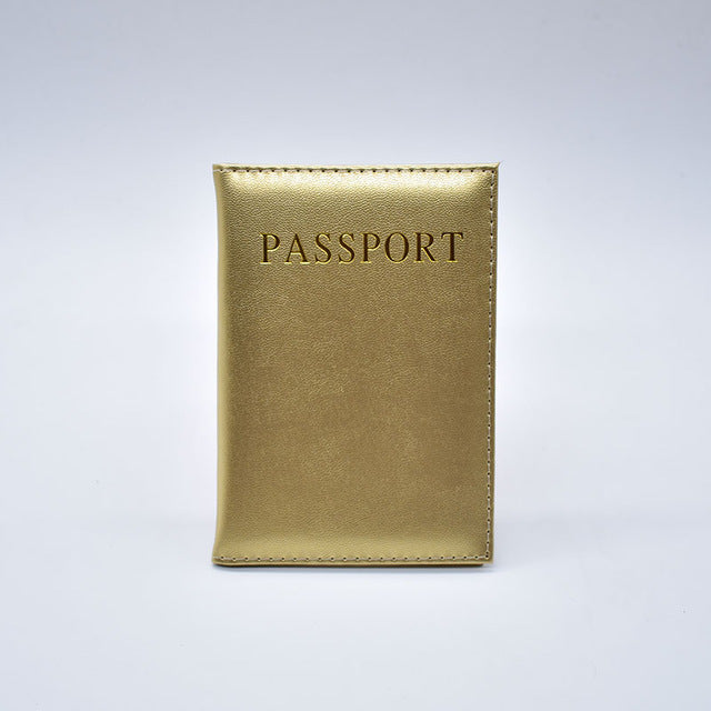 Back to Basics Passport Cover