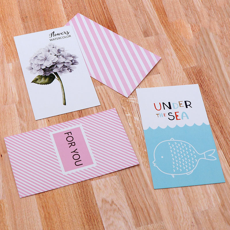 10 Card Set Postcards Greeting Cards