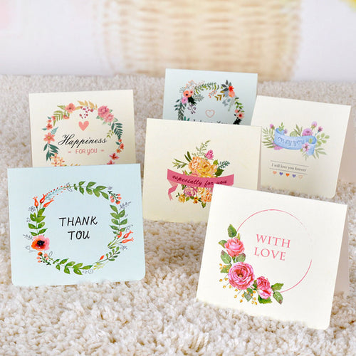 Postcards and greeting cards girl boss boutique floral wreath cards m4hsunfo Gallery