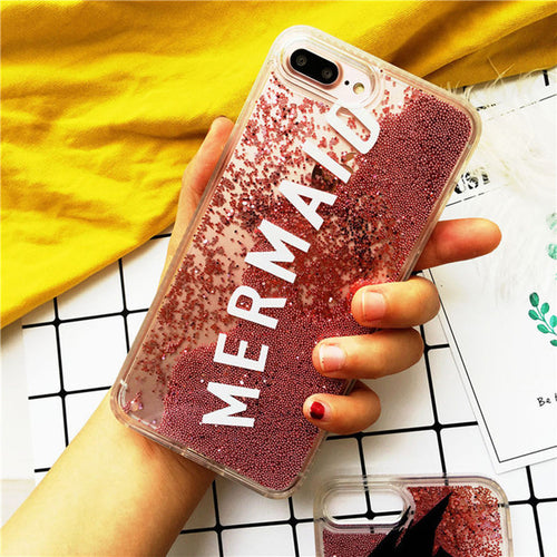 Mermaid Luxury Glitter Quicksand Phone Case