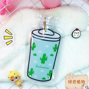 Cute Cartoon Animal Bear Cat Cactus Flamingo Carrot Hand Feet Warm Hot Water-filling Hot-water Bag