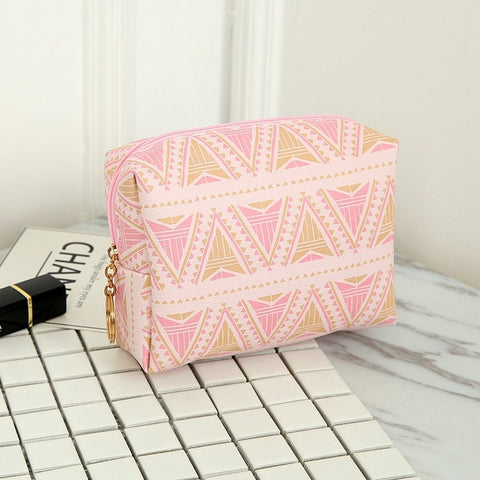 Lips 3D print Makeup Bag