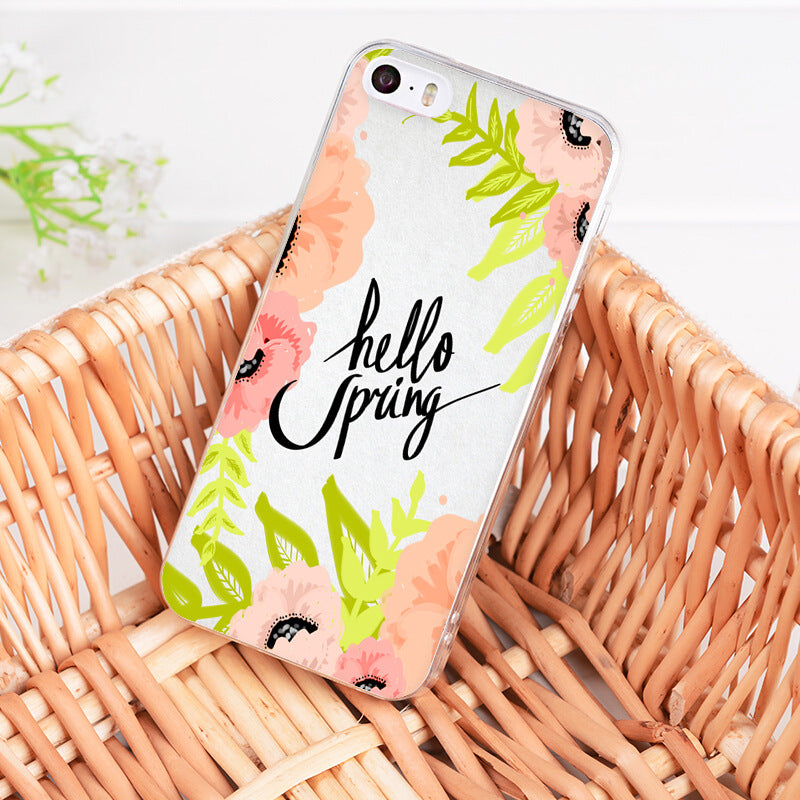 Hello Spring Phone Case