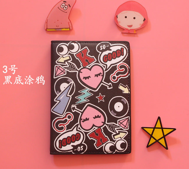 Graffiti Passport Covers