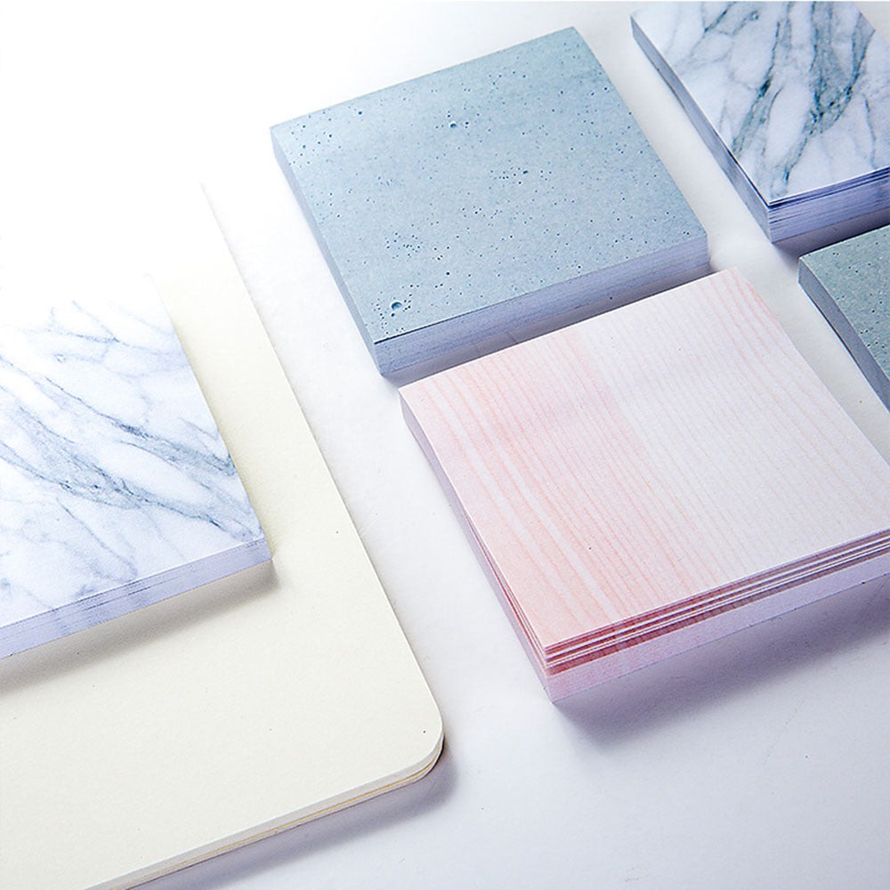 Rectangle Stones Sticky Notes