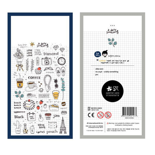 Daily Life Planner Stickers