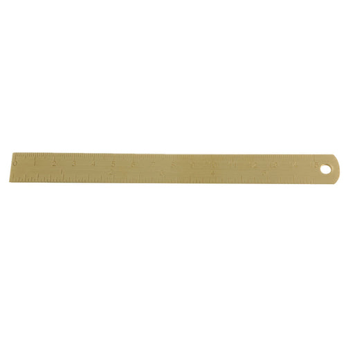 15cm Outdoor Brass Ruler