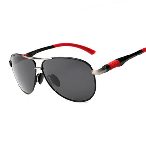 Mens Classic Big Aviation Polarized Sunglasses