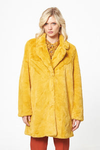 Faux Fur Puffy Coat