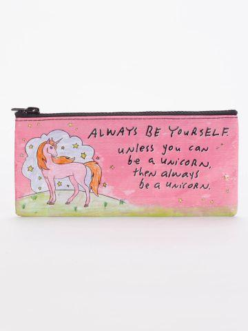 Recycled Pencil Case - Be a Unicorn