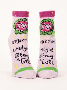 Womens Cotton Crew Sock