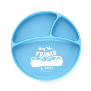 Baby Suction Plate - Hey Ma Franks a Lot