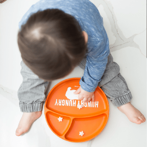 Baby Suction Plate - Hungry Hungry Hippo