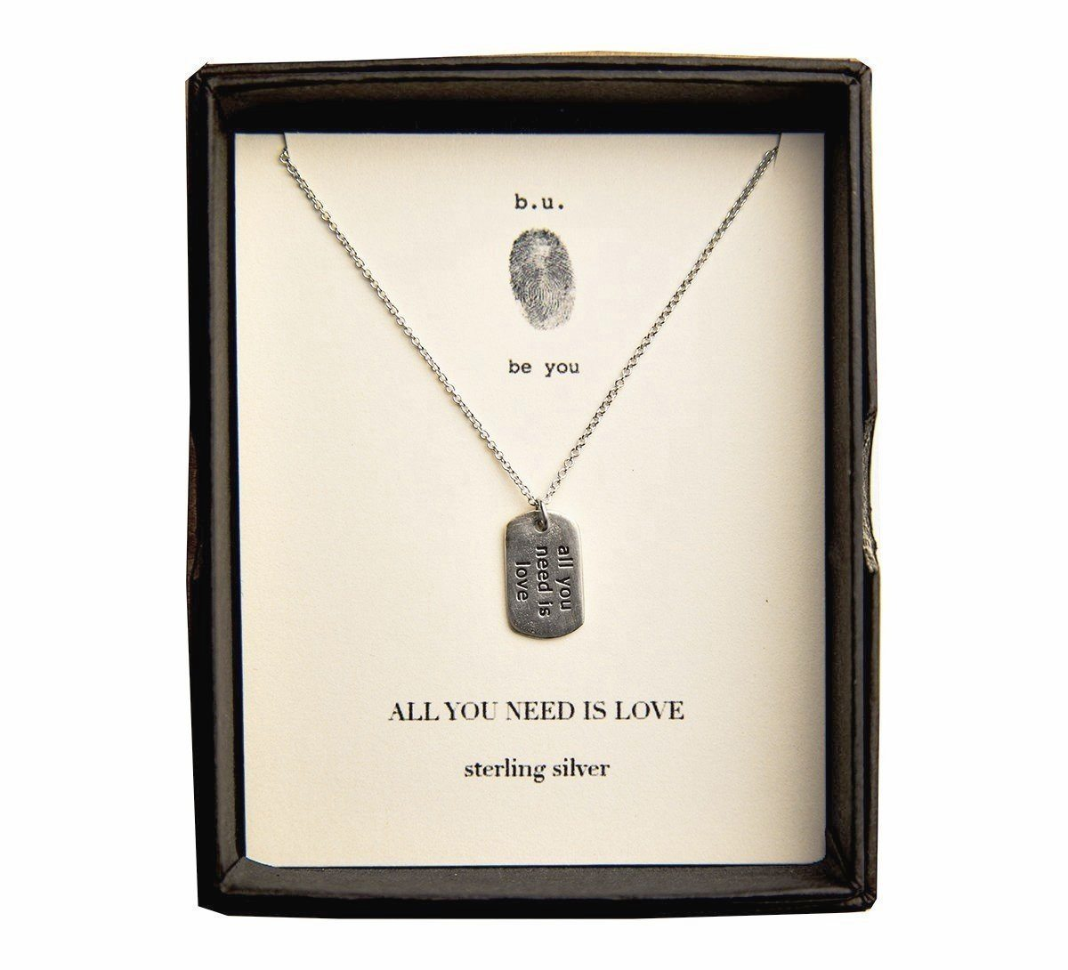 Sterling Silver - All You Need Is Love