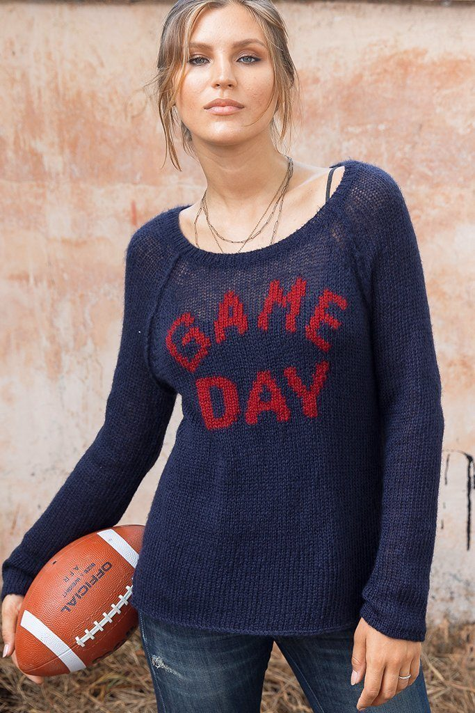 Game Day Mohair Sweater