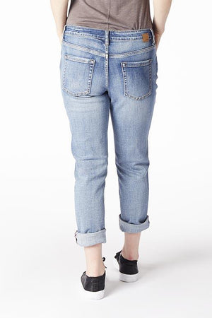 Distressed Vintage Girlfriend Jean