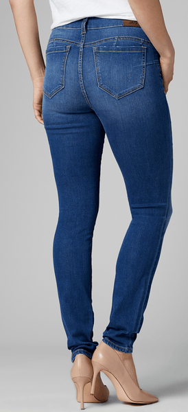 High Rise Flat Front Skinny Jean