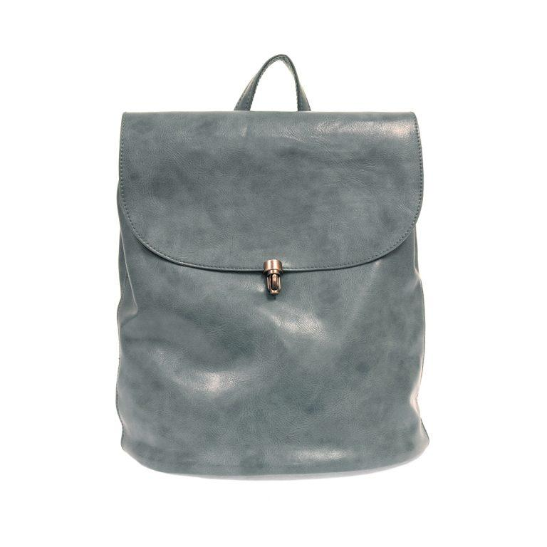 Vegan Leather Large Backpack - Multiple  Colors Available