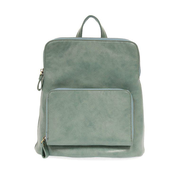 Vegan Leather Sleek Backpack - Many great colors available!