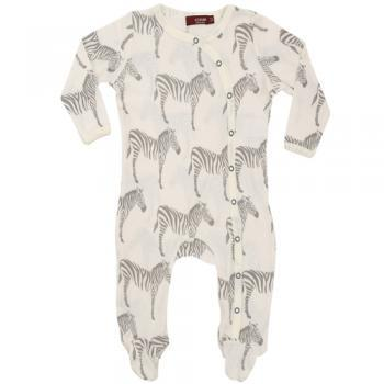 Organic Cotton Footed Romper - Many Great Prints