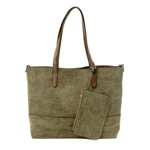 Vegan Reversible Tote - Multiple Fall Colors Available